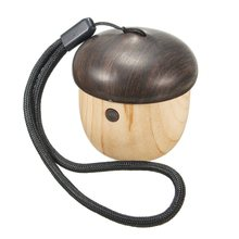 Natural Wood Super Mini Bass Stereo Wireless Bluetooth2.1+EDR Speaker Portable Music Speaker For Computer Phone PC