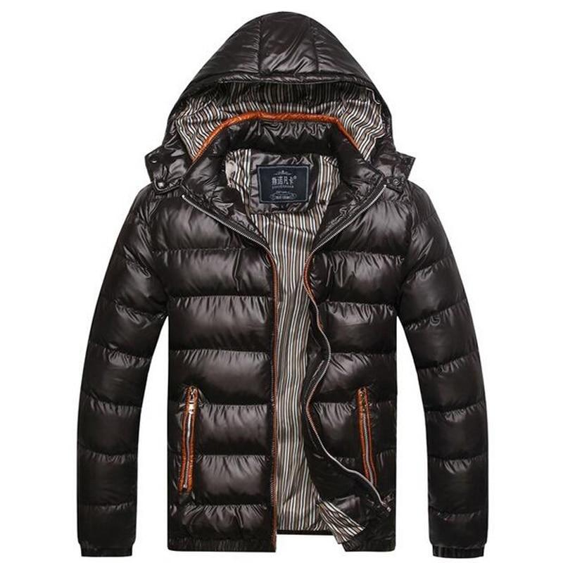 2017 New Sale Winter Jacket Men Warm Down Jacket Casual Parka Men padded Winter Jacket Casual Handsome Winter Coat For MenОдежда и ак�е��уары<br><br><br>Aliexpress