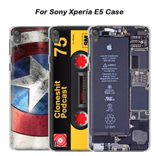 Buy Sony Xperia E5 case, 3D cartoon custom-made painted back cover case Sony Xperia E5 5.0 inch Customized case for $6.98 in AliExpress store