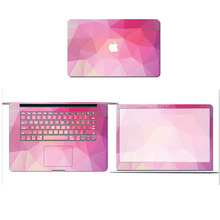 "2017 new laptop skin personalized covers black computer sticker 11""12""13""15""15.6""17"" for mac pro/ acer/ lenovo yoga/ dell"