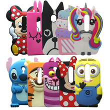 Fashion 3D Cartoon Unicorn Silicone case For Moto G3 Cute Horse Rubber cover For Motorola Moto G 3rd gen/Moto G Gen 3/Moto G3