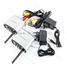 2.4GHz Wireless AV Sender TV Audio Video Transmitter Receiver PAT-330 -R179 Drop Shipping