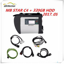 Super MB Star C4 2017 SD connect with mb star c4 cable and star c4 HDD diagnosis for Mercedes Benz