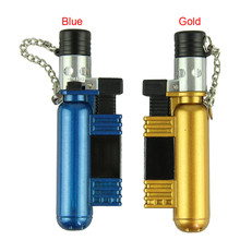 New Qualified Jet Torch Windproof Cigar Cigarette Refillable Butane Gas Lighter  Levert Dropship dig6427