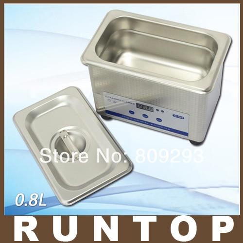 110V/220V  0.8L digital small ultrasonic cleaner bath JP-008<br>