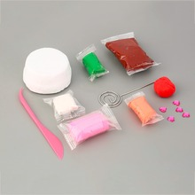 Hot! Set DIY Toys A Variety Of Rainbow Cake Business Card Holder Light Clay New Sale