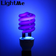 2016 New E27 36W Spiral Energy Saving Black Light Lamp CFL Bulb Moth-killing Light Counterfeit Detector with E27 Screw-socket