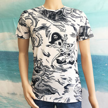 Seestern Brand clothing 2017 new styles Donald Duck t shirts fashion Dragon boat summer tops tee men t shirts