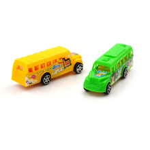 1PCS Child toy car model American school bus students Shuttle Back to school bus plastic alloy car High Quality(China)