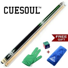 CUESOU Pool Cue Stick with Free Gift for Glove+ Chalk+ Cue Clean Towel L Billiard Cue