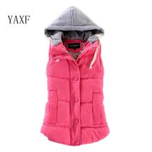 8 Colors New Stule Autumn Winter Vest Women Gilet Colete Feminino Casual Waistcoat Female Sleeveless Jacket Vests(China)