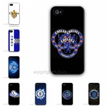 Hot Selling Chelsea FC Football Club Customized Printing Plastic Hard Back Cell Phone Cover For Apple iPhone 5 5G 5S Case