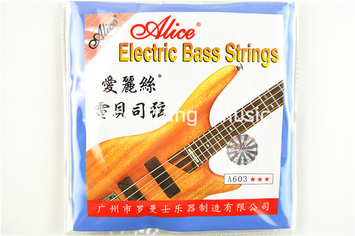 Alice A603-M Electric Bass Strings 5 Strings Bass Nickel Alloy Wound 045-130 in. Free Shipping Wholesales<br><br>Aliexpress