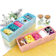 HOT 1 Pc Candy Color Multi-Function Desktop Drawer Storage Box Office Organizer 91XX(China)