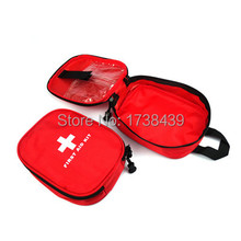 New 14 PCS First Aid kit Travel Emergency Car First Aid Kits outdoor survival medical bag size 16.5*12.*5 CM(China)