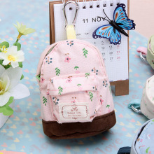 10Pcs Wholesale Mini Floral Pencil bag School case mini wallet Coin purse Flower School bag Stationary School supplies(China)