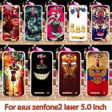 TPU Plastic Case For Asus ze500kl For Asus Zenfone2 Laser ZE500KL ASUS_Z00RD Zenfone 2 Laser ZE500KG 5.0 inch Case Cover housing