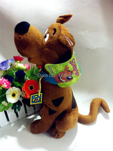 35cm Cartoon Network Scooby Doo Plush Scooby Doo Stuffed Animal Dog Toy 1pc Free Shipping
