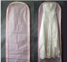 Bridal Wedding Dress Gown Garment Storage Bag Cover VAA006(China)