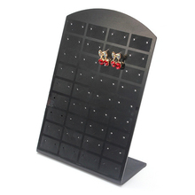 36 Pair Black Jewelry Earrings Organizer Holder Display Stand #4681