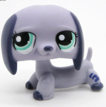 Original LPS cute toys Lovely Pet shop animal 1PC action figure doll Dachshund Dog Puppy littlest toy
