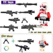 #WM501 Clone Solider Red Storm Trooper Single Sale Assemble Building Blocks Kids Education Learning Toys(China)