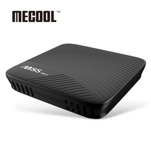 Hot MECOOL M8S PRO Bluetooth 4.1 Dual Band WiFi Android 7.1 TV Box 2GHz ARM Cortex-A53 CPU 64bit Media Support 4K and 3D Video