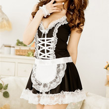 Buy New Alishebuy Sexy Lingerie Sexy Underwear Lovely Female Maid Lace Sexy Miniskirt Lolita Maid Outfit Sexy Costume Sex Products