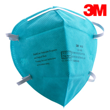 3M 9132 Surgical Masks Anti Particulate Respirator Against H7N9 Influenza Virus PM2.5 N95 gas Dust Mask hospital CDC(China)