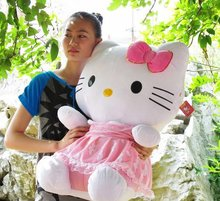 Hello Kitty Toys Big Stuff Animal Best Gift New 75CM Size Good PPT Cotton Cheap Price Factory Sale(China)