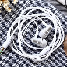 3.5mm Stereo In-ear Earbuds Earphone Heavy Bass Sound Quality Music Earpiece without Mic for MP3 MP4 Player Phones