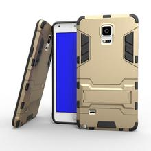 Buy Fundas Samsung Galaxy Note 4 Case Hybrid Dual Heavy Duty 3D Armor Stand Cases Cover Samsung Galaxy Note 4 N9100 Coque $ for $3.99 in AliExpress store