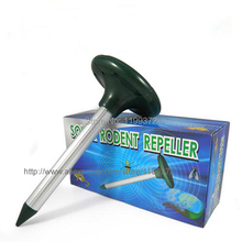 12pcs Electronic Solar Power Sonic Mole Snake Rodent Mice Mouse Insect Pest Repeller Repellent Garden Panel Ultrasonic Waves