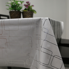 Waterproof PVC Simple Modern Table Cloth Oil Resistance Non Wash Tablecloth Table Cover Table Placemats 6 Sizes