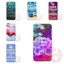 keep calm and choose juicy lovely girly Soft TPU Silicon Coque Case Capa For Apple iPhone 4 4S 5 5C SE 6 6S 7 7S Plus 4.7 5.5