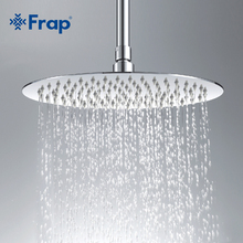 Frap High quality Large Round thin 304 Stainless Steel Shower head Rainfall Shower Faucet Diameter 300mm G29(China)