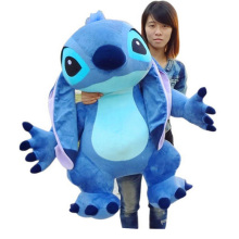 2017 35'' Jumbo Giant Stitch Plush Stuffed Soft Cute Toy 90cm, Nice Gift For Kids