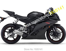 Hot Sales,For Yamaha YZF600 R6 2008-2016 YZF-R6 08 09 10 11 12 13 14 15 16 YZF R6 Black Motorcycle Fairings (Injection molding)(China)