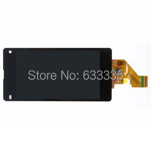 5pcs LCD Display Touch Screen Digitizer Assembly For Sony Xperia Z1 Mini Compact D5503 M51W front outer glass black<br><br>Aliexpress