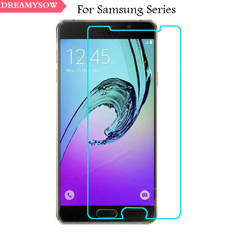 Able Tempered Glass Screen Protector For Samsung Galaxy S6 S5 S4 S3 Mini A3 A5 A7 A8 J1 J3 J5 J7 2016 Grand Prime Protective Film Phone Bags & Cases