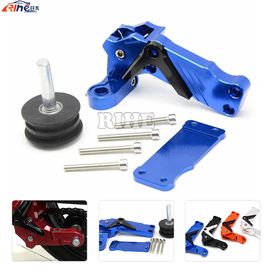 motorcycle Parts CNC Universal Tensioners Catena rear axle spindle chain adjuster For YAMAHA MT-09 TRACER FZ-09 FJ-09 MT FZ FJ09<br><br>Aliexpress