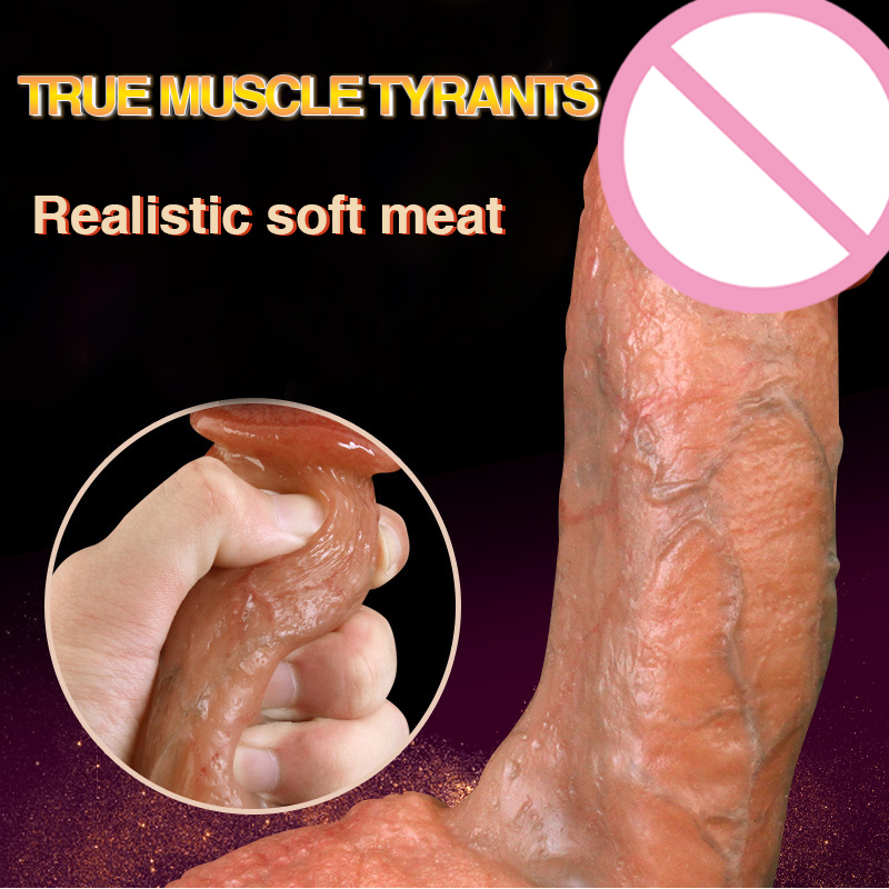 New Lifelike Dick Silicone Realistic Dildo Suction Cup Dildo Male Artificial Penis Female Masturbator Adult Sex Toys For Women<br>