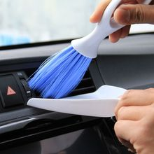 1 Set Car Dashboard Vent Air Outlet Cleaning Brush Dustpan Broom Tool Kit for Car Cleaning Wholesale(China)