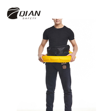 QIAN SAFETY Professional Unisex Automatic 150N Inflatable Life Jacket Waist Style Life Vest With Whistle High Quality