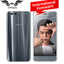 International Firmware Huawei Honor 9 4G LTE Mobile Phone 5.15' Kirin 960 Octa Core 6GB RAM 64GB ROM Dual Rear 1920*1080P NFC(China)
