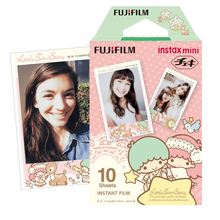 10 Sheets Fuji Instax Color Film Little Twin Star Photo Paper Prints For Fujifilm Mini 7s 8 9 90 70 Instant Camera Share SP1 SP2(Hong Kong)