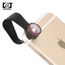 APEXEL 20X Super Macro Lens Mobile Phone Camera Lens Kit Professional Photography Lentes for iPhone Xiaomi Phone lens APL-20XM