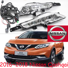 Qashqai day light,2008~2012/2016 2017 2018 year,Free ship!LED,sentra,Titan,Qashqai fog light,2pcs+wire of harness;rogue,Qashqai