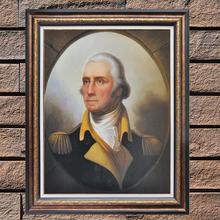 No framed George Washington famous figure portrait oil painting reproduction handpainted for room wall decor MP024(China)