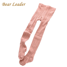 Bear Leader Girls Tights 2017 New Fashion Striped Diamond Style Baby Tights Pantyhose Tights For Girls Warm Tights Winters 3-6Y(China)